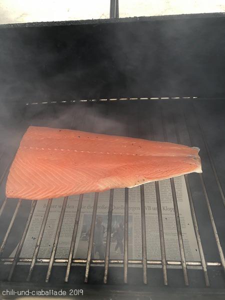 Lachs im Rauch