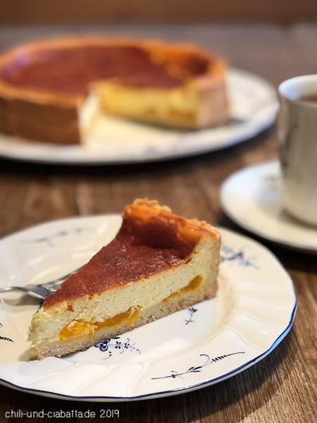 Rahmkuchen mit Mandarinen-Orangen