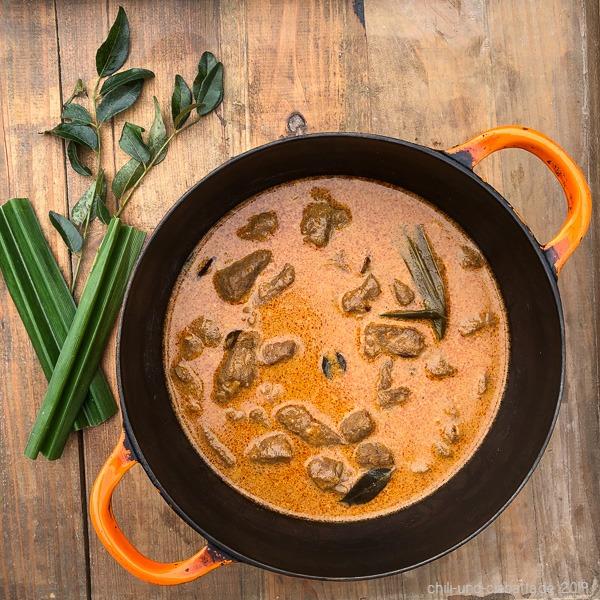 Sri Lanka Rindfleischcurry Spezial