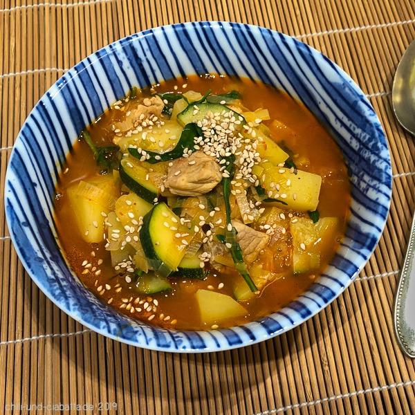 Pork Gochujang Stew