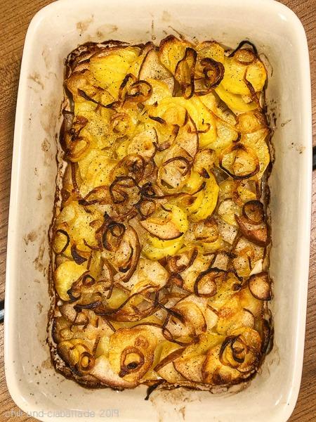 Bäckerin-Kartoffeln mit Birnen
