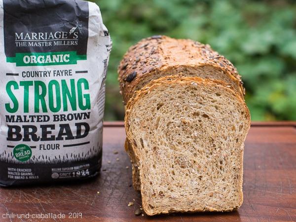 Brown Loaf, Anschnitt