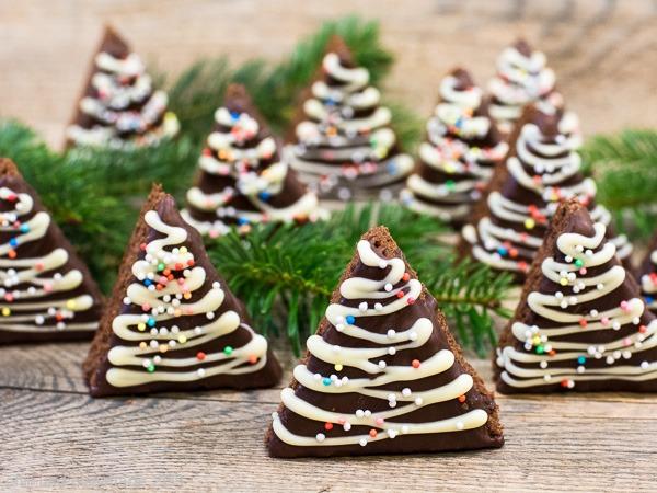 Brownie-Baeumchen