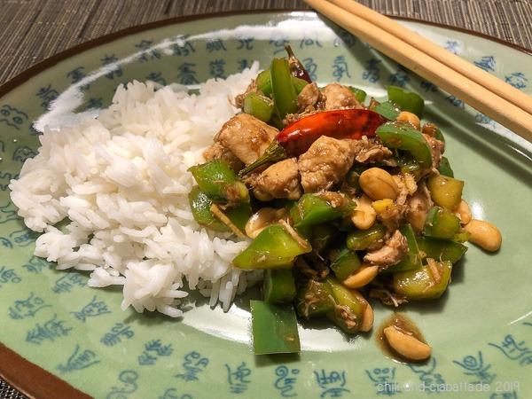 Huhn nach Naxi-Art