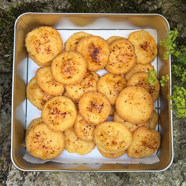 Chili-Käse-Sablés Dose