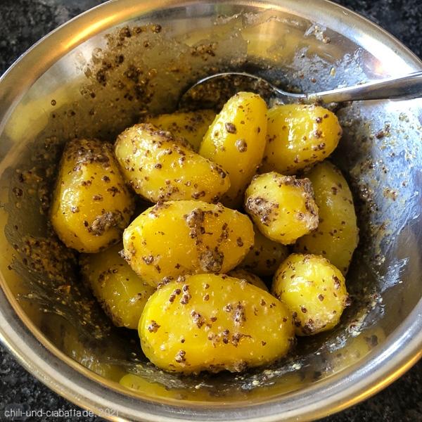 Pommery-Kartoffeln mit Senf