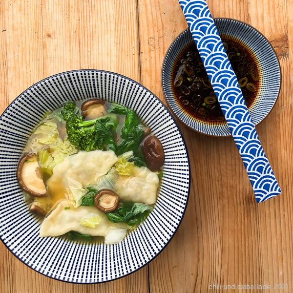 Enten-Gyoza-Hot Pot